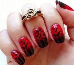 20 best halloween nail art tutorials nail design ideaz