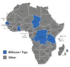 Map Of Africa Countries Millicom Tigo Major African Mobile Markets Future Growth Prospects