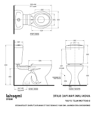 standard dimensions of toilet full size toilets wellness