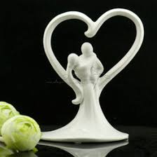 ceramic wedding cake toppers online ceramic wedding cake toppers