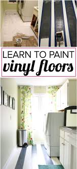 learn how to paint vinyl floors for lasting results