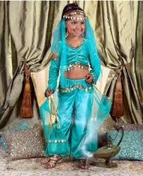 Genie Halloween Costume Belly Baring Glam Inappropriate Halloween Costumes