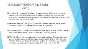 standard template library