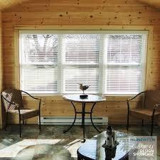 1 faux wood blinds