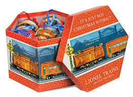 lionel trains pre war ornament gift box toys