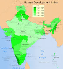 Manzanillo Mexico Map by Human Development Index Of Major Indian States Compared To