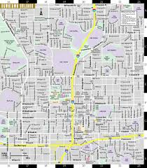 Map Of Orlando And Surrounding Towns by Streetwise Orlando Map Laminated City Center Street Map Of