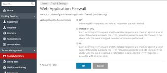 web application firewall modsecurity