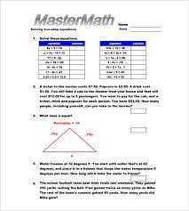 13 7th grade algebra worksheet templates u2013 free word u0026 pdf