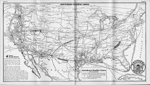 Los Angeles Train Map by The Tehachapi Loop