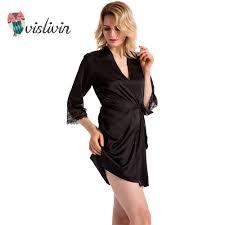 robe de chambre en soie vislivin robes de chambre d été pour les femmes en soie robe des