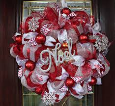 christmas mesh wreaths deco mesh christmas wreath and from twossboutique on etsy