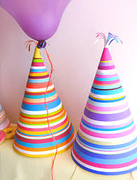 party hats stripy party hats mr printables