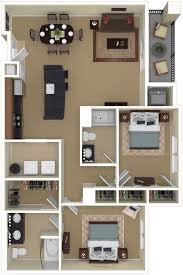 2 Floor Bed by Conveniently Located Chesapeake Apartments The Weston 2 Bedroom