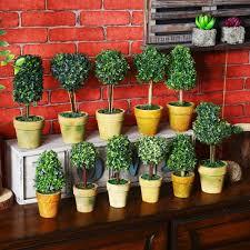 mini fake pot plant promotion shop for promotional mini fake pot