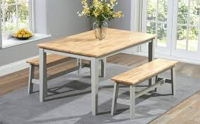 dining room sets with bench lovely dining table with bench farmhouse table and bench dining