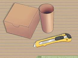 How To Build A Toy Chest Step By Step by 5 Ways To Build Hamster Toys Out Of Household Items Wikihow