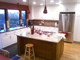 two tone cabinets in kitchen two toned colors for cabinets finish carpentry contractor talk