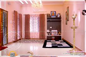 completed home with interior photos kerala home design and floor