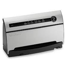 Bed Bath And Beyond Vaccum Foodsaver Vacuum Sealer Chrome Bed Bath U0026 Beyond