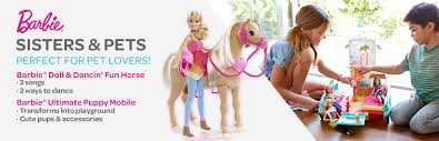 barbie sisters pets u0026 friends barbie chelsea friends mattel shop