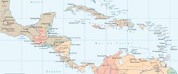 Central America And The Caribbean Map by 26 Regeneration Initiatives In Latin America Regeneration