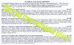 funeral packages myrtle funeral and cremation provider 695 package cmerge