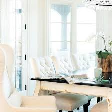 White Dining Table With Black Chairs Glass Top Dining Table Design Ideas