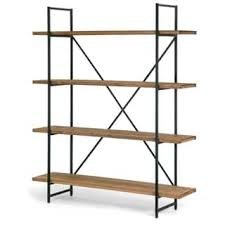 Walnut Ladder Bookcase Walnut Finish Bookshelves U0026 Bookcases Shop The Best Deals For