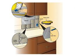 easy to install kitchen backsplash kitchen how to install a tile backsplash tos diy kitchen around