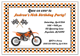 dirt bike birthday party invitations dolanpedia invitations ideas