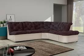 canapé d angle tissu pas cher canapé d angle modulable en tissu chocolat ivoire daniela canapé d