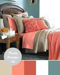 Coral Colored Comforters Coral Colored Quilts Coral Colored Coverlet Silk Cotton Bedding