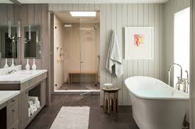 bathroom paneling ideas bathroom transitional with glass shower