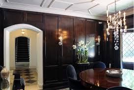 Tudor Homes Interior Design by Tudor Style Interiors Tudor Revival Dramatic Elegant Dining