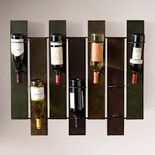 metal wine rack table storage wall mounted decorative small wine racks for storage and