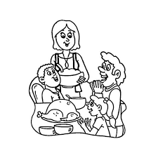 thanksgiving day around the world coloring page print