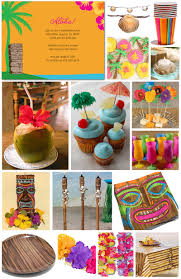 tropical theme table party ideas 15 must see hawaiian party games