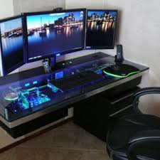 Pc Desk Design Best Wall Mounted Computer Desk For Gamers Wall Suspended Gaming