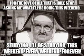 Frowning Meme - frowning nun memes imgflip