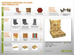 Outdoor Patio Furniture Cushions Replacement by Update Your Patio Furniture With The Outdoor Cushion Selector