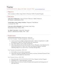 sample resume sample student resume samples resume prime executive mba weekend program resume sample before 1