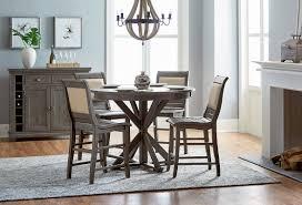 lark manor epine round counter height dining table u0026 reviews wayfair