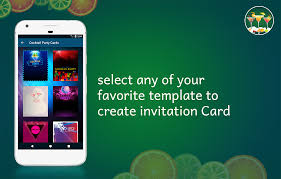 cocktail party invitation card maker android apps on google play