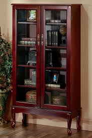 Best Bookshelves For Home Library by Furniture The Best Choice Of Bookshelves With Glass Doors For