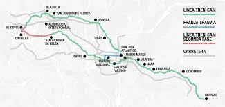 san jose light rail map electric light rail could revolutionize costa rica public transport