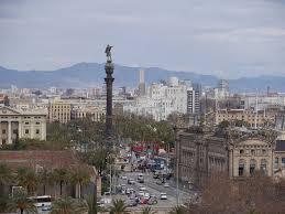 barcelona city view colon barcelona city view free photo on pixabay