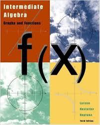 Textbooks   CRC Website Intermediate Algebra  rd Larson