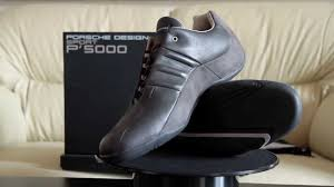 porsche design sport shoes adidas porsche design p u00275000 athletic driver youtube