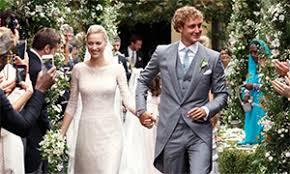Armani Wedding Dresses Beatrice Borromeo Channels Greek Goddess On Wedding Day